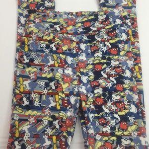 Other - Lularoe Kids Disney Leggings Mickey Mouse